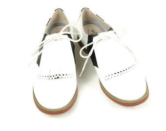 White Kilties for Womens Golf Shoes, Swing Dance Shoes, Golf Accessories, Gifts for Golfers, 1950s Fashion, Shoe Tongue, Shoe Decorations,