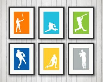 Baseball Decor - Sports Decor for Boys Room - Baseball Wall Decor - Teen Room - Baseball Nursery Decor - Baseball Room Decor - Man Cave