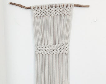 Bess, macrame art by Pacific Loom
