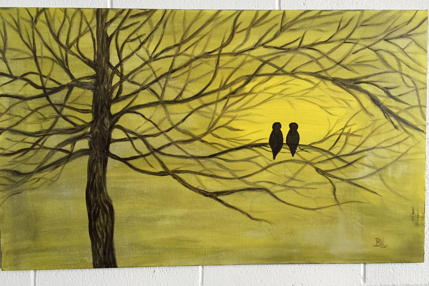 large wall art canvas birds artwork large canvas painting