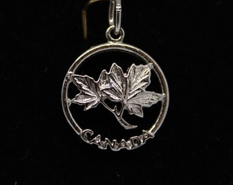 JEWELRY LIQUIDATION SALE Sterling Silver Canada Pendant