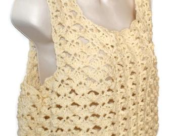Plus Size Clothing, Womens Plus Size, Plus Size Sweater, Plus Size Camisole, Womans Top, Womans Shell, Crochet Top, Plus Size Top