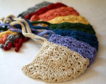 Lacy Crochet Baby Bonnet. Birthstone Colors. Unique Baby Shower Gift