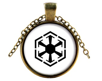 Star War series Necklace-  Sith Empire Pendant- Elegant, Unique Jewelry Accessories
