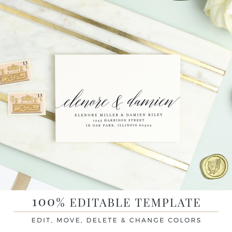 rsvp envelope template - Dorit.mercatodos.co