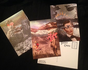 Pack of ALL printed postcards in the shop!