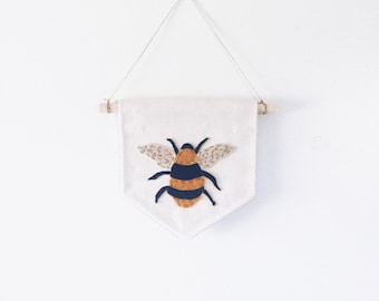 SAVE The BEES (SMALL) canvas wallbanner