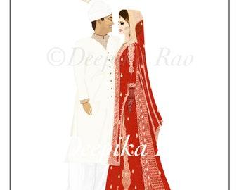 Custom Wedding Photo Recreation