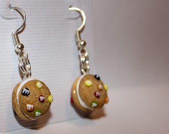 Sandwich Cookie Earrings