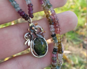 Tourmaline Necklace - Tourmaline Jewelry