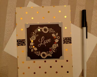 Love Greeting Card/Valentine Greeting Card