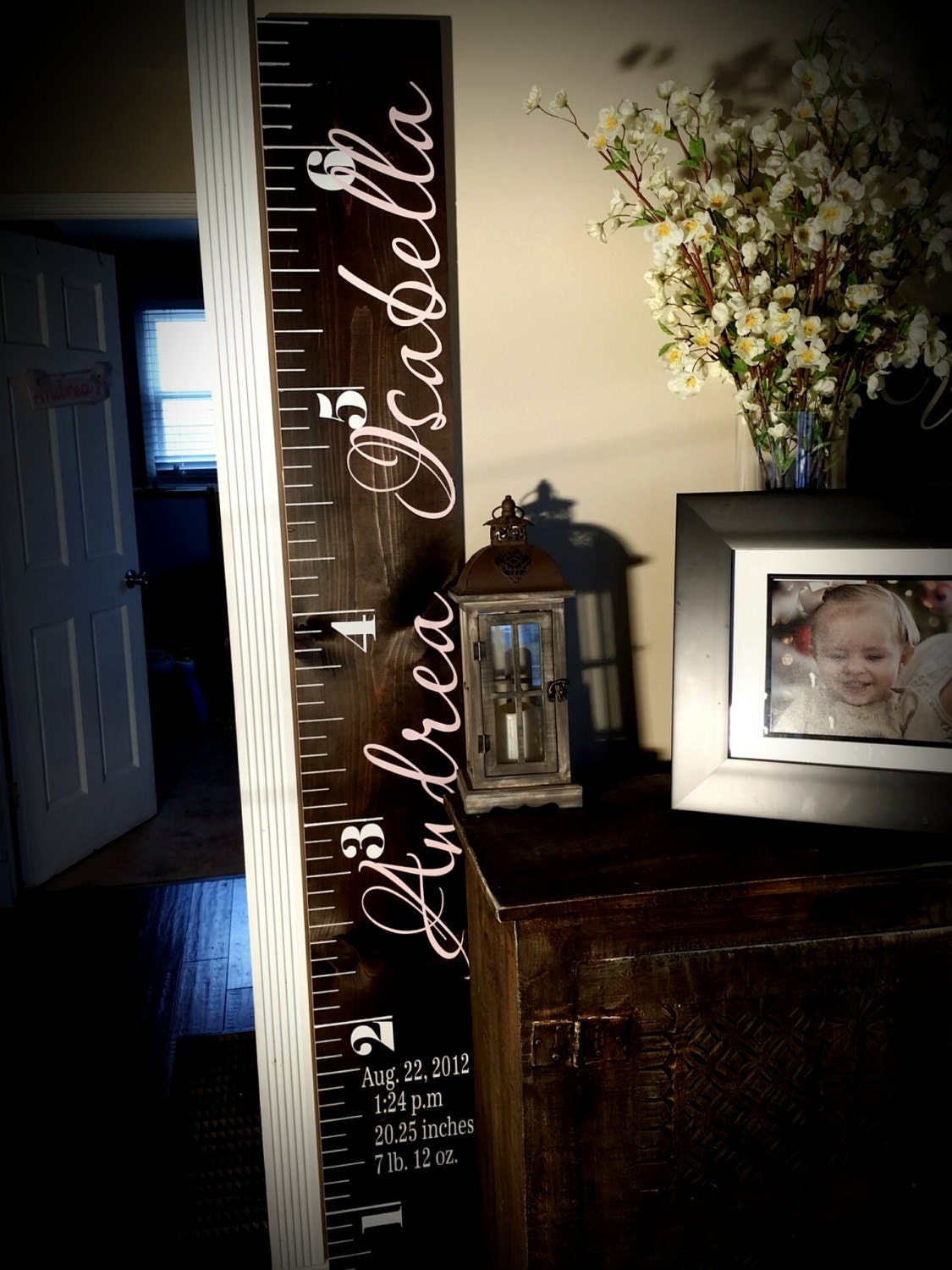 Custom growth chart distressed wood growth chart growth zoom geenschuldenfo Choice Image