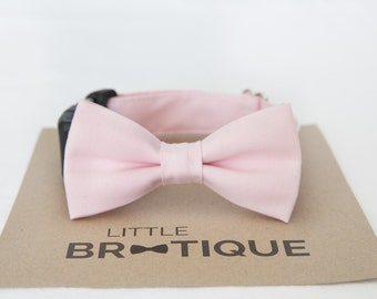 Light Pink Dog Bow Tie Sent 1-3 business days after you order