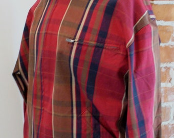 Vintage Ralph Lauren Plaid Summer Jacket Size L