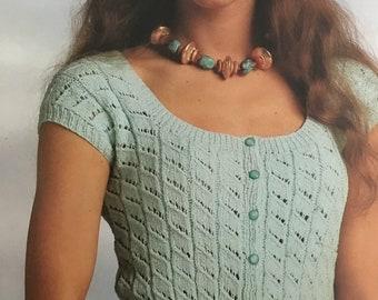 PDF Knit Fashion Top VI (Pullover)