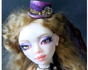 Art Doll One of a Kind Steampunk Aria