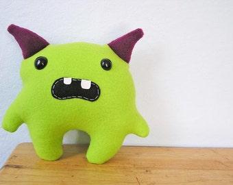 Momo die kleinen Monster - Lime & Magenta