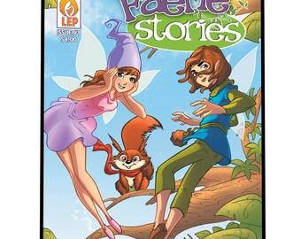 Faerie Stories - Issue #1 - PDF - DIGITAL COPY - All Ages - Fairy Tale - Comic Book - Indie Comics - Last Ember Press - Fairies - Magic