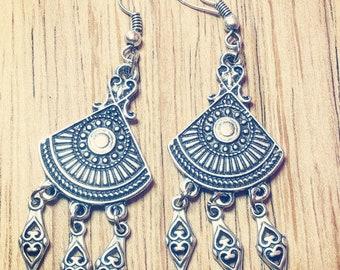 Bali inspired drop earrings