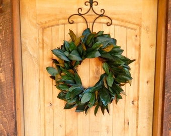 MAGNOLIA Wreath-Magnolia Leaf Wreath-Farmhouse Wreath-Magnolia Door Wreath-Outdoor Wreath-Fix Upper Decor-Housewarming Wreath-Wedding Gift