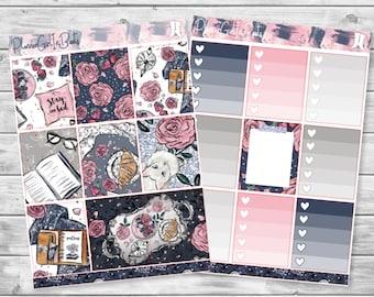 stay in bed planner sticker kit