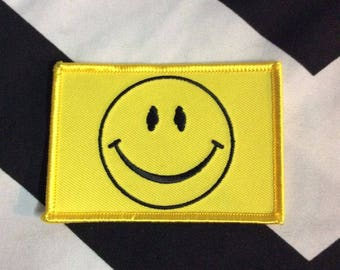 Bw Patch - Smiley Face - Rectangle Shape
