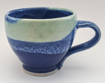 SALE Hand thrown mug