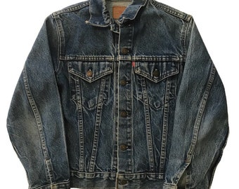 Vintage 1970s Levis Denim Jacket Womens Small Youth 16 Made In USA