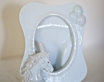 Carousel Horse Frame - Ceramic 1989 Arnart