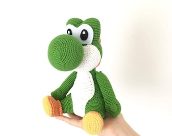 Yoshi crochet pattern / PDF EN