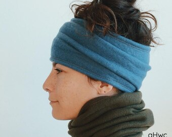 Headband / Mask   Wide Headband, Face Mask, Warm Headband, Fleece Headband, Ear Muff, Hair Tube, Neck Warmer, Neckwarmer, Winter, Snowboard