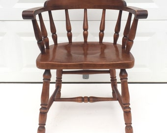 Vintage Captain's Chair by Heywood Wakefield