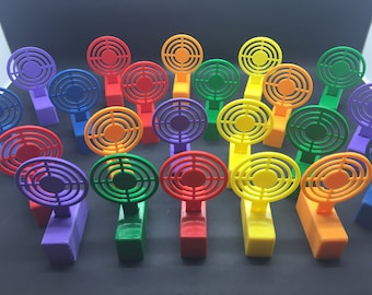 Reactive Jumping Target with Stand for foam darts, rubber bands, airsoft, and more!