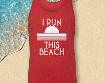 Toddler Tank top, Boys Tank Top, Boys Beach Tank, Boys Tank, I Run This Beach Tank top,Funny Tank Top,Boy's Tanktop, Toddler Tank-Top, Beach