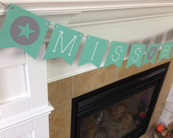 Custom Name Banner || Classroom Banner || Teacher Banner || Back to School Banner || Teacher Gift