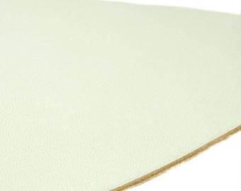 White Leather cutout chalk, 25x11cm about piece