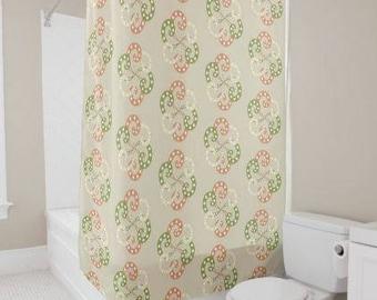 Paisley Swirls Shower Curtain