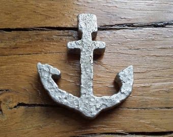 Hand Cast Aluminum Anchor