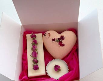 Rose & Peony Gift Set