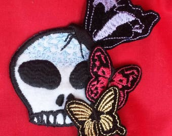 Day of the dead brooch