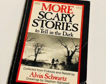 1984 edition More Scary Stories to Tell in the Dark book novel by Alvin Schwartz