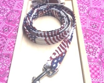 Fabric Covered Leash - 4 Ft.