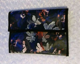 Floral Faux Leather Purse