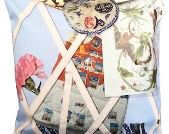 Designers Guild Christian Lacroix Souvenir Ciel Cushion Cover