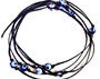 Lucky Eye Wrap Around Bracelet