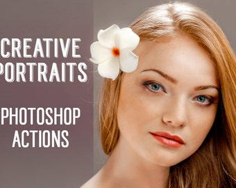 Portrait Photoshop Actions - Creative Portraits Photoshop Actions