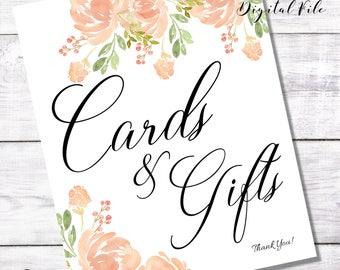 WEDDING PRINTABLE SIGN- Blush Cards Gifts Diy Digitable Printable- Baby Shower Decor- Bridal Shower Decoration -Table Decor-Bar Decor I do