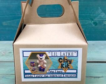 Clay Kit// Polar Bear//Hanukkah Gift