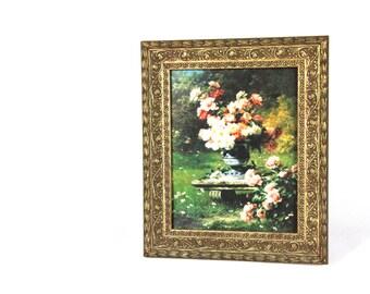 Framed Floral Wall Art