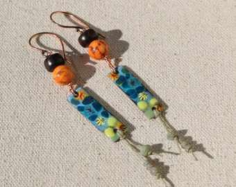 Color Splash - Earrings